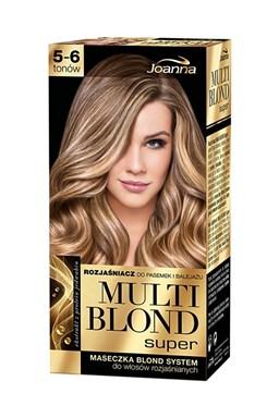 JOANNA Multi Blond Super silný zesvětlovač na vlasy s keratinem - zesvětlení 5-6 odstínů