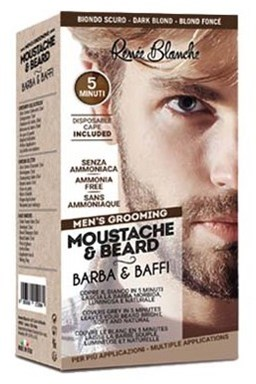 RENEÉ BLANCHE Men´s Grooming Dark Blond - profi 5min. barva na vousy a kníry - tmavá blond