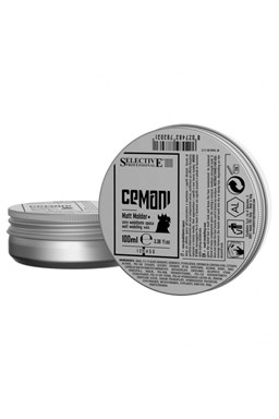 SELECTIVE Cemani Matt Molder 100ml - matný modelační vosk na vlasy pro muže