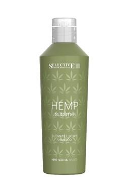 SELECTIVE Hemp Sublime Shampoo 250ml - šampon s konopným olejem pro suché vlasy