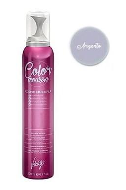 VITALITYS Color Mousse ARGENTO barevné pěnové tužidlo 200ml - stříbrné