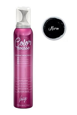 VITALITYS Color Mousse NERO barevné pěnové tužidlo 200ml - černé