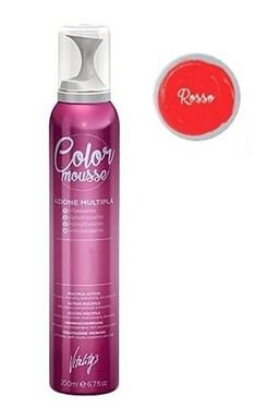 VITALITYS Color Mousse ROSSO barevné pěnové tužidlo 200ml - červené