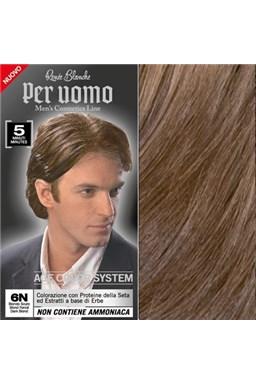 RENEÉ BLANCHE Per Uomo 6N Dark Blond - 5min. barva na vlasy pro muže - tmavá blond