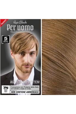 RENEÉ BLANCHE Per Uomo 7N Blond - 5ti minutová barva na vlasy pro muže - blond