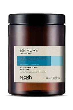 NIAMH Be Pure Gentle Mask 1000ml - maska pro všechny typy vlasů a každodenní mytí