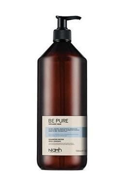 NIAMH Be Pure Detox Shampoo 1000ml - detoxikační šampon na mastné a zplihlé vlasy