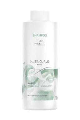 WELLA Nutricurls Waves Shampoo Lightweigh 1000ml - šampon pro vlnité vlasy bez sulfátů