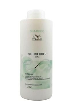 WELLA Nutricurls Curls Shampoo Medium 1000ml - micelární šampon pro kudrnaté vlasy