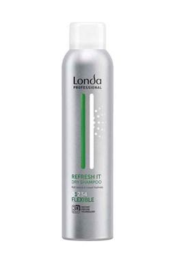 LONDA Professional Refresh It Dry Shampoo 180ml - suchý šampon na mastné vlasy