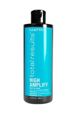 MATRIX Total Results High Amplify Root Up Wash 400ml - superčistící šampon pro objem jemných vlasů
