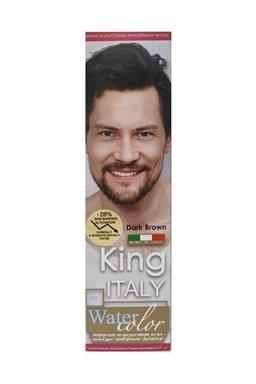 KLÉRAL King Italy Water Color DARK BROWN - tmavě hnědá barva na vlasy pro muže