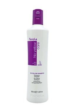 FANOLA No Yellow Shampoo 350ml - šampon pro blond, melírované a šedivé vlasy