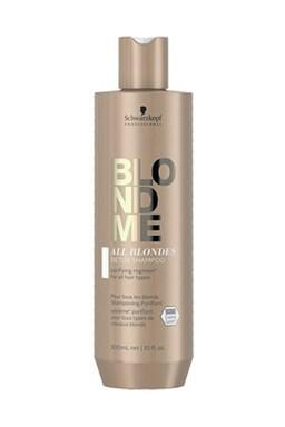 SCHWARZKOPF BlondMe All Blondes Detox Shampoo 300ml - detoxikační šampon pro blond vlasy