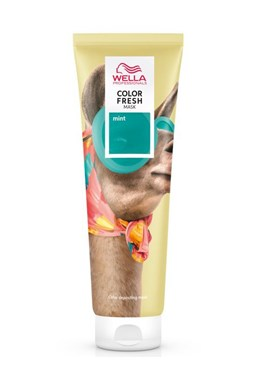 WELLA Professional MINT Color Fresh Mask 150ml - barvící a pečující maska na vlasy
