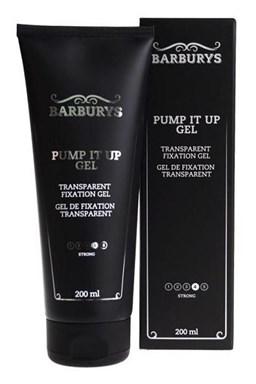BARBURYS Pump It Up Gel 200ml - velmi silný fixační gel na vlasy