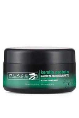 BLACK Keratin Protein Mask 250ml - keratinová maska na poškozené vlasy