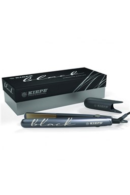 KIEPE Professional BLACK Nano Titanium - profesionální žehlička na vlasy - černá