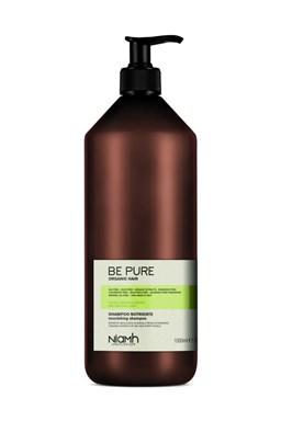 NIAMH Be Pure Nourishing Shampoo 1000ml - výživný šampon pro jemné, slabé a vysušené vlasy