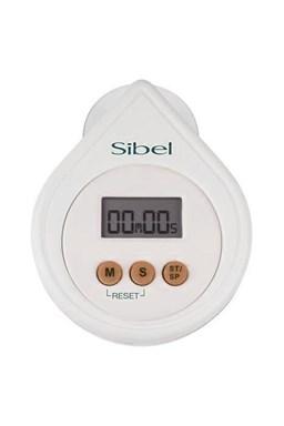 SIBEL Drop Digitální časovač, minutka s alarmem - bílá