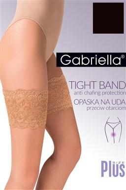 Samodržící páska na punčochy Gabriella Opaska na uda Code 509