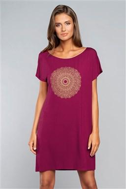 Noční košile Italian Fashion Mandala kr.r. - Výprodej