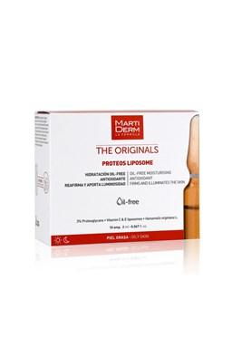 Martiderm Proteo Liposome ampule s vitaminem C a E 10 x 2 ml