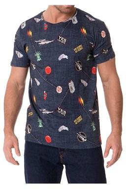 Pánské tričko John Frank JFTD01